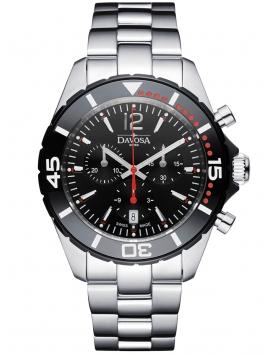 zegarek męski na bransolecie DAVOSA Diver NauticStar Chrono 163.473.65