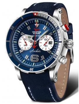 zegarek męski Vostok Europe Anchar Chrono 6S21-510A583
