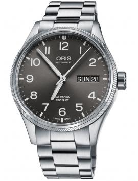 zegarek szwajcarski oris na bransolecie 0175276984063-0782219