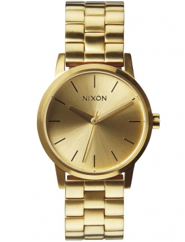 Damski złoty zegarek na bransolecie Nixon A361_1502