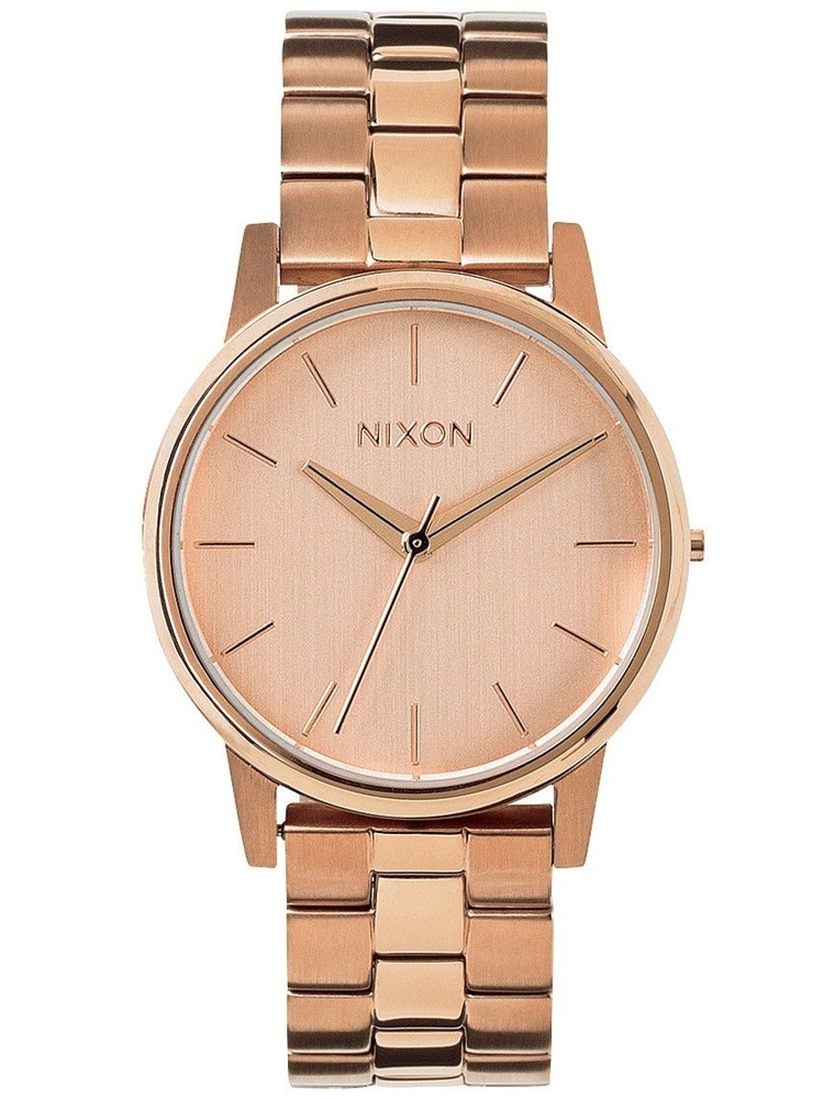Damski zegarek na bransolecie NIXON Small Kensington All Rose Gold A361_1897
