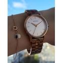 zegarek damski różowe złoto