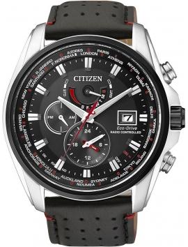 Zegarek męski na pasku skórzanym Citizen AT9036-08E