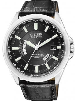 Zegarek męski na pasku skórzanym Citizen CB0010-02E