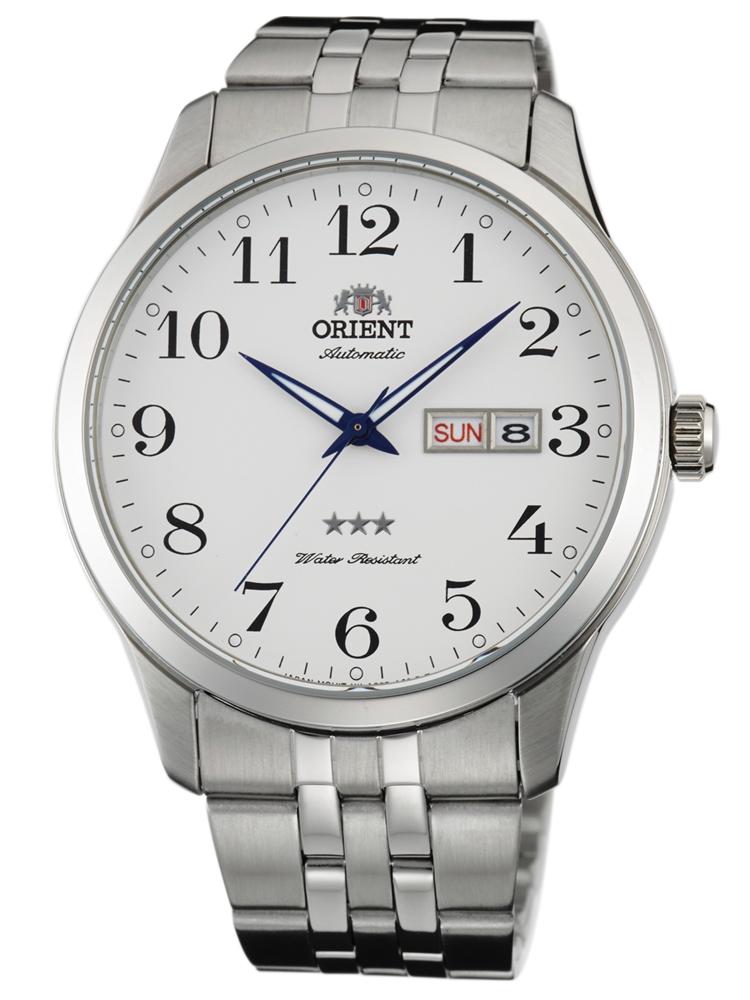 męski zegarek stalowy FAB0B002W9