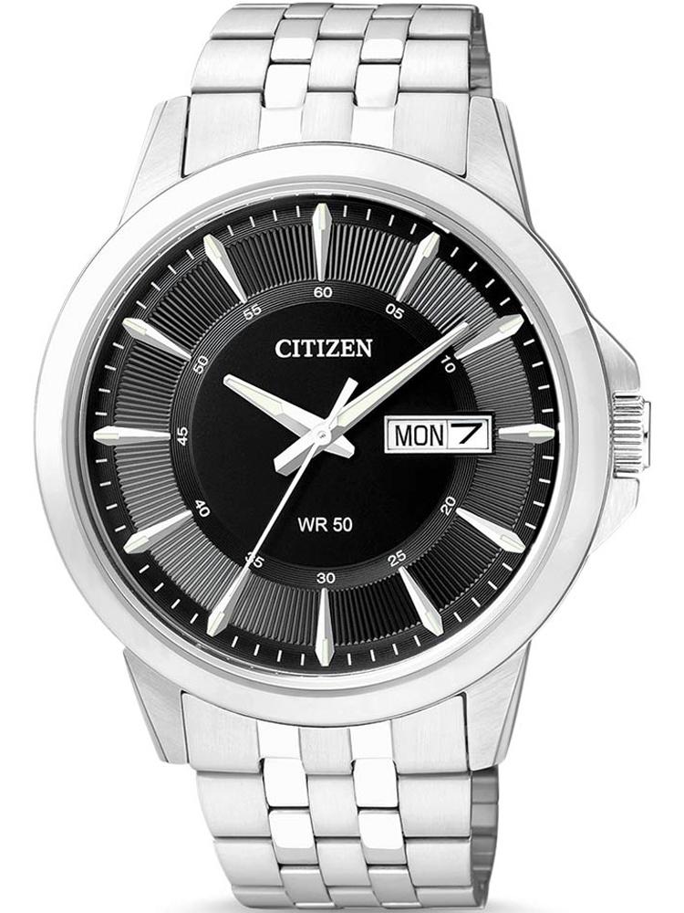 Zegarek męski na bransolecie Citizen BF2011-51EE