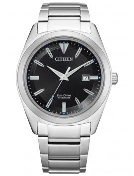 tytanowy zegarek męski Citizen AW1640-83E