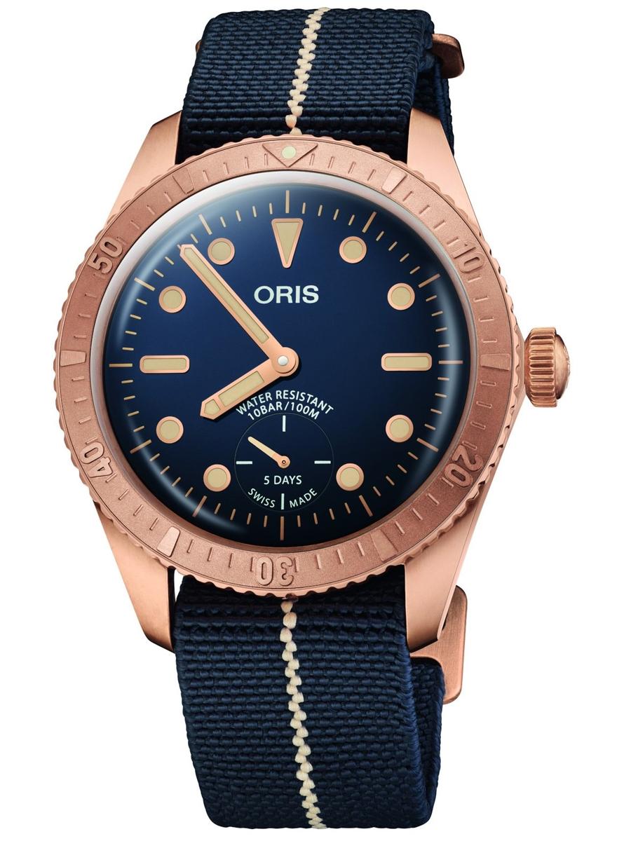 męski zegarek ORIS Carl Brashear Calibre 401 Limited Edition 0140177643185-Set