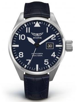 zegarek meski AVIATOR Swiss Made Airacobra P42