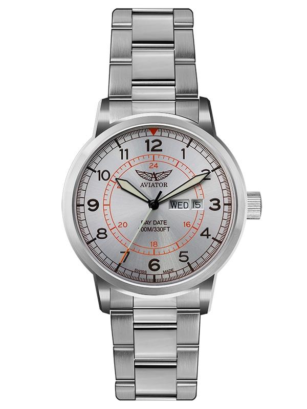 zegarek męski AVIATOR Swiss Made Kingcobra