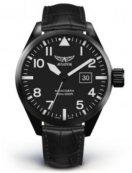 V.1.22.5.148.4 AVIATOR Swiss Made AIRACOBRA P42 zegarek męski