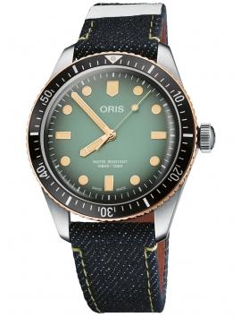 zegarek męski ORIS Divers Sixty-Five Chronograph 0173377074337-Set