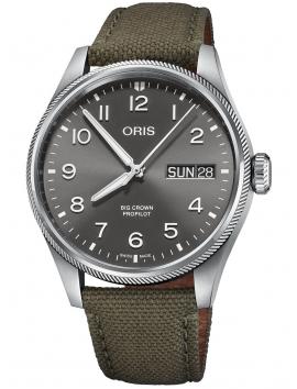 zegarek męski ORIS Big Crown ProPilot Day Date 0175277604063-0732202LC