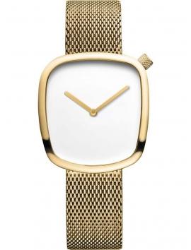 nietypowy zegarek damski BERING Pebble 18034-334