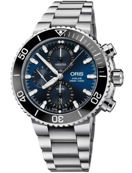zegarek męski nurek ORIS Aquis Date 0177477434155-0782405PEB