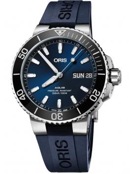 zegarek męski do nurkowania ORIS Aquis Date 0175277334135-0742465EB