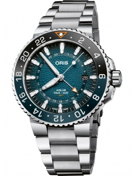 zegarek męski Oris Whale Shark Limited Edition 0179877544175-Set