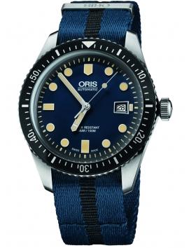 zegarek męski automatyczny ORIS Divers Sixty-Five Date 0173377204055-0752128FC