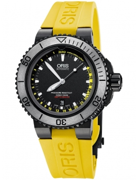 męski zegarek sportowy ORIS Aquis Depth Gauge 0173376754754-SetRS