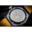 Grawerowany dekiel męskiego zegarka Glycine