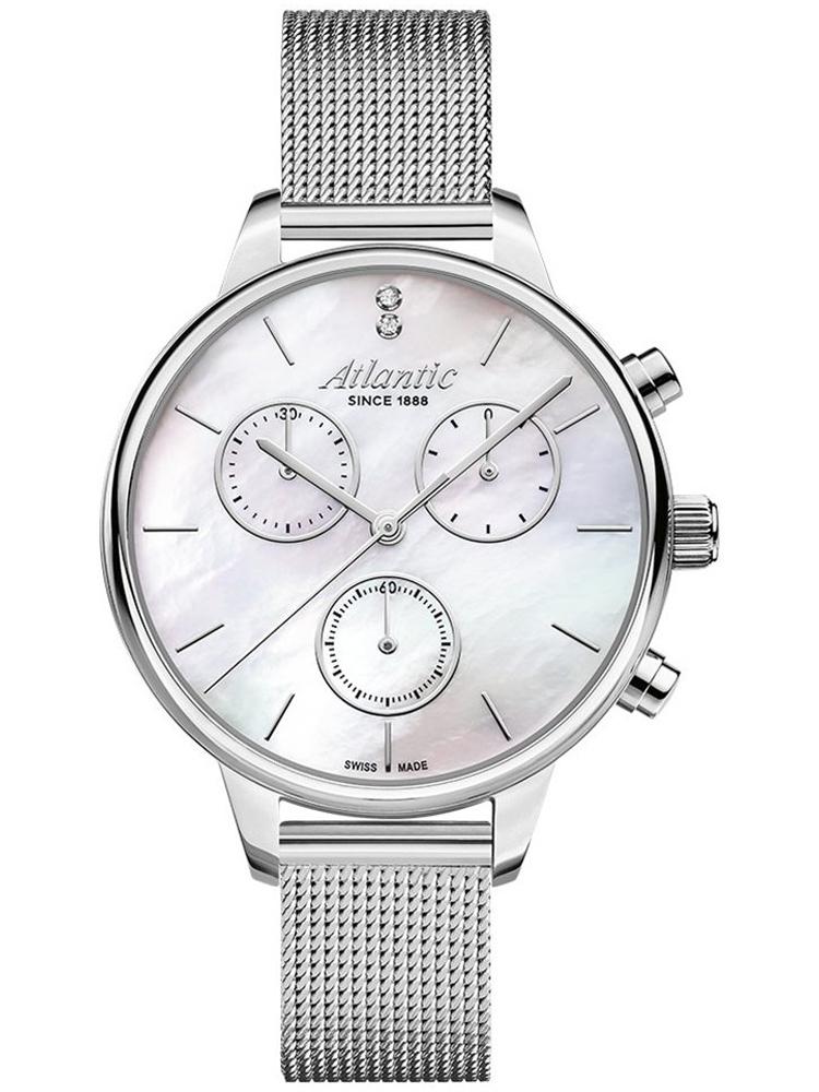 zegarek damski na bransolecie ATLANTIC Elegance 29435.41.07