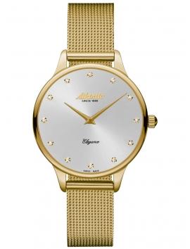 zloty zegarek damski ATLANTIC Elegance 29038.45.27MB