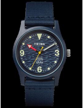 zegarek TRIWA TIME FOR OCEANS Ocean Plastic - Deep Blue TFO102-CL150712