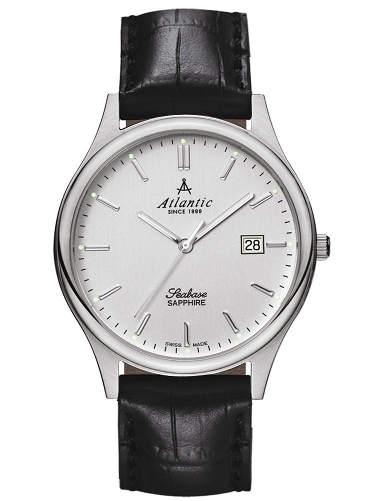zegarek męski na pasku ATLANTIC Seabase 60342.41.21