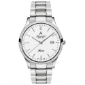 srebrny zegarek męski na bransolecie ATLANTIC Sealine 62346.41.21