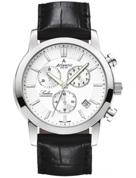 zegarek męski z chronografem ATLANTIC Sealine 62450.41.21