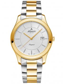 zegarek męski na bransolecie bikolor ATLANTIC Seapair 60335.43.21G