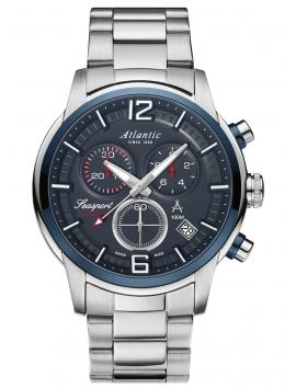 zegarek męski na bransolecie ATLANTIC Seasport 87466.47.55