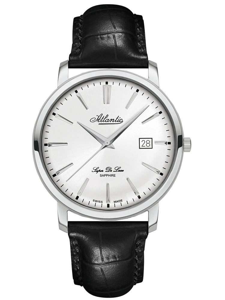 klasyczny zegarek męski ATLANTIC Super De Luxe 64351.41.21