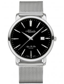 zegarek męski na bransolecie mesh ATLANTIC Super De Luxe 64356.41.61