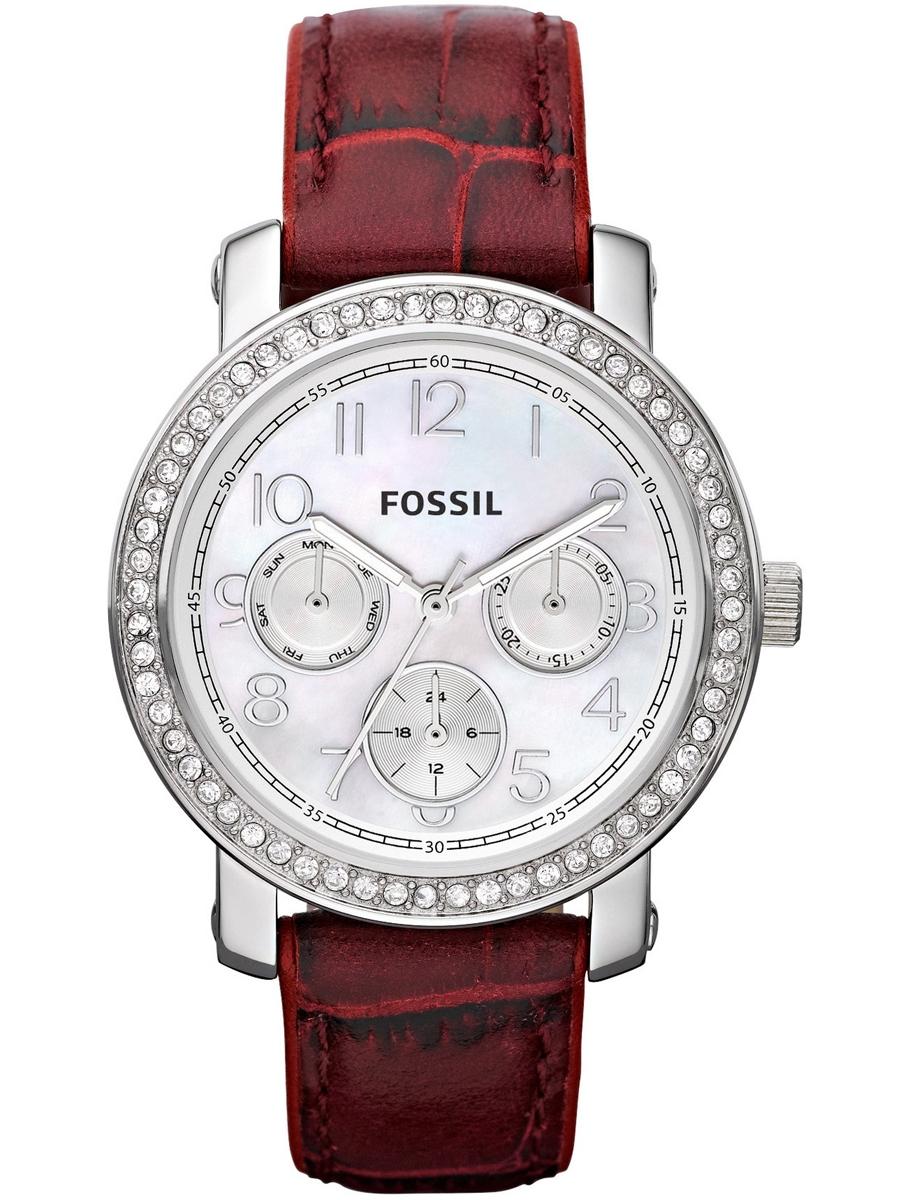 Zegarek damski na pasku Fossil ES2981