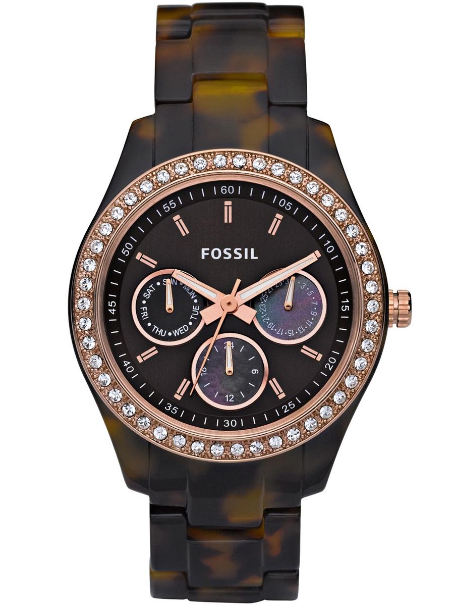 Damski zegarek kwarcowy Fossil