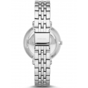 srebrny zegarek na bransolecie