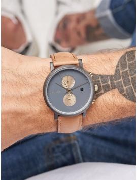 zegarek męski MELLER Makonnen Gray Camel Chronograf