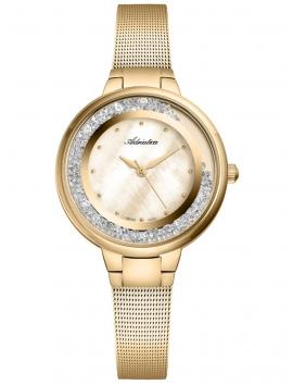 A3720.114SQZ Adriatica złoty zegarek damski na bransolecie