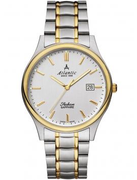 60347.43.21 ATLANTIC Seabase zegarek męski bransoleta bikolor