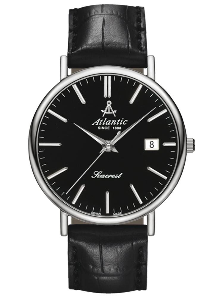 50354.41.61 ATLANTIC Seacrest czarny męski zegarek