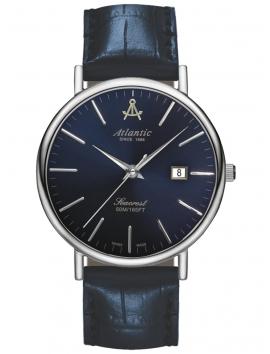 50354.41.51 ATLANTIC Seacrest męski zegarek na pasku skórzanym