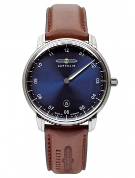 8642-3 zegarek na skórzanym pasku