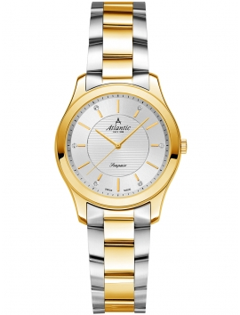 20335.43.21G ATLANTIC Seapair damski zegarek bransoleta bikolor