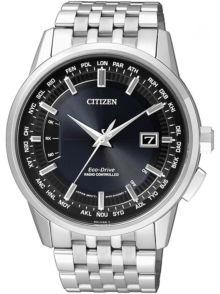 CB0150-62L CITIZEN Radio Controlled męski zegarek na bransolecie stalowej