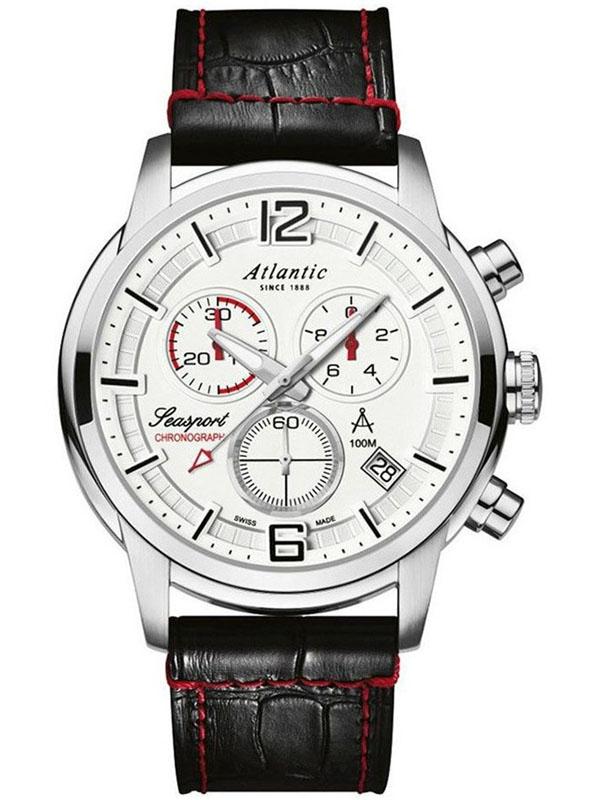 87461.41.25 ATLANTIC Seasport męski zegarek sportowy na pasku