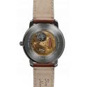 zegarek kwarcowy szklany dekiel