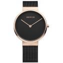 14539-166 BERING Classic czarny zegarek damski
