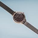 11022-265 BERING Classic damski zegarek brązowy