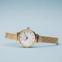 Damski zegarek na bransolecie meshowej